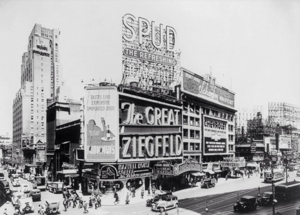 THE GREAT ZIEGFELD TWENTY YEARS BEFORE THE LATE SHOW
